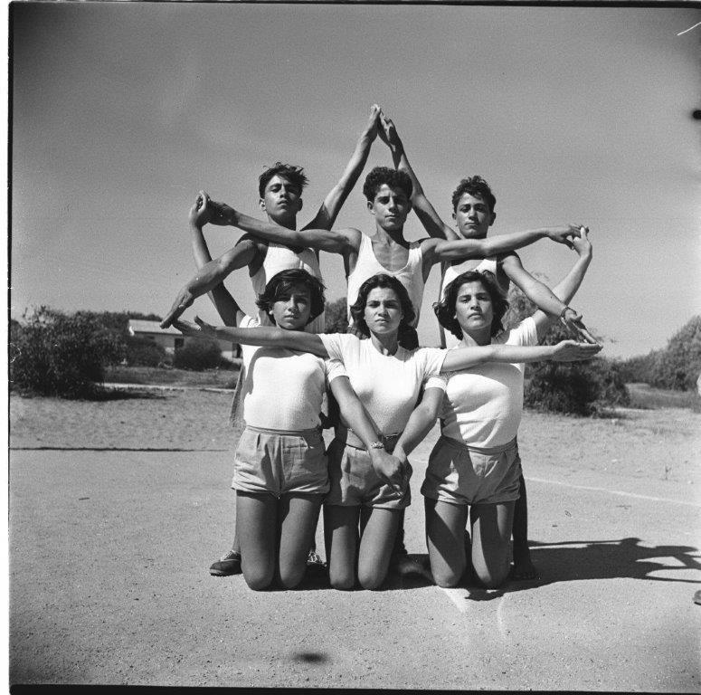 מחנה נופש ספורט, עליית הנוער נתניה 1953