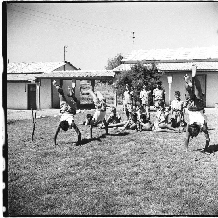 פעילות בקיבוץ מגינים 1953