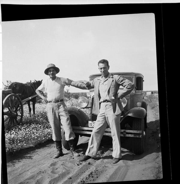 1308782 מנהל עבודה ופועל בפרדסים של חברת יכין בעמק חפר 1936