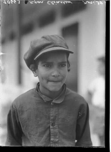 1342818 דיוקן של ילד תימני ממושב אלישיב, 1939