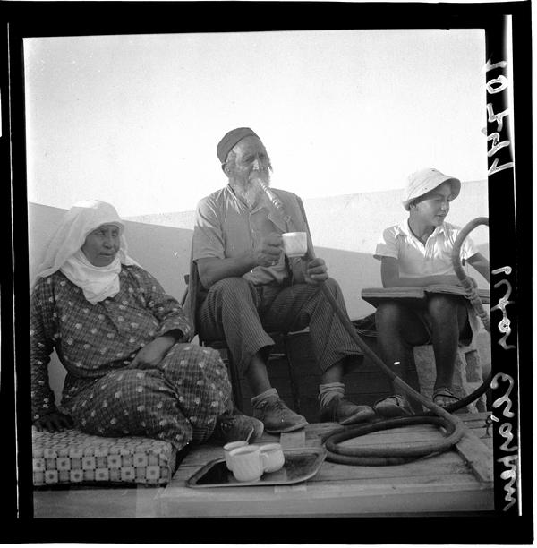 1342987 תימני מעשן נרגילה, מושב אלישיב, 1939