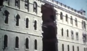 מבנים לאורך 'הקו העירוני' מייד לאחר מלחמת ששת הימים, פרץ חן, 1967